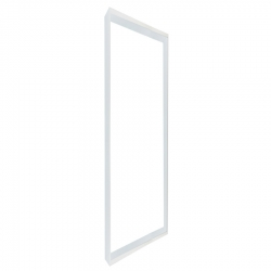Support dalle - Blanc 1200x600 mm en saillie
