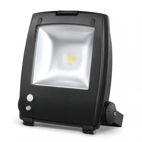 projecteur led avec d tecteur de mouvements 30w 6000k ip65. Black Bedroom Furniture Sets. Home Design Ideas