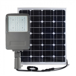 STREET LIGHT LED 30W / SOLAIRE AUTONOME 80W / IP67 - 6000K