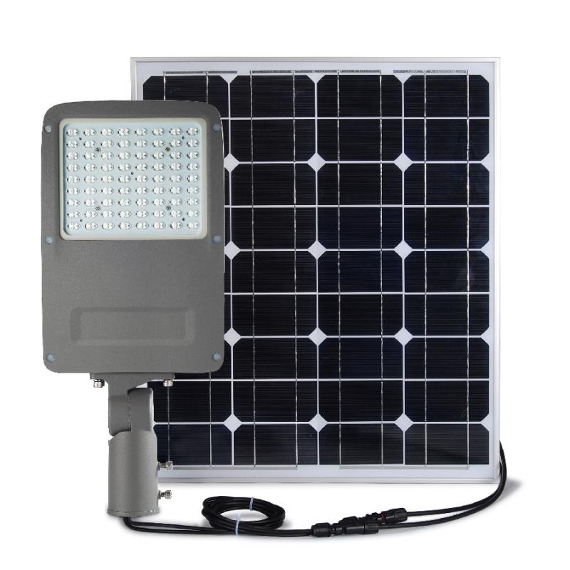 street light autonome led 30w panneau solaire 80w. Black Bedroom Furniture Sets. Home Design Ideas