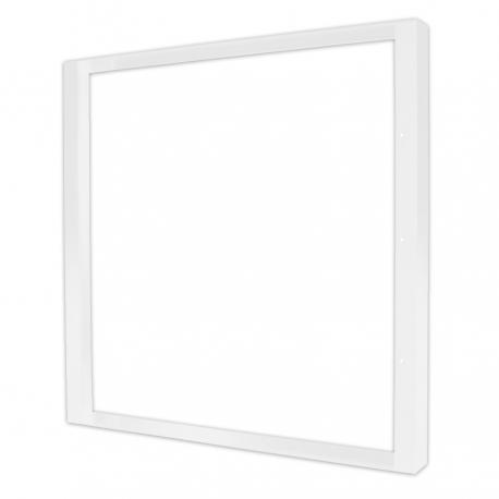 Support dalle IP 65 - Blanc 600x60 mm en saillie