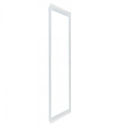 Support dalle IP 65 1200x300 mm en saillie - Blanc