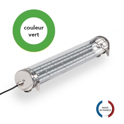 TUBELight FUN bi-matière - Vert - Clair - Ø70 x 600 mm