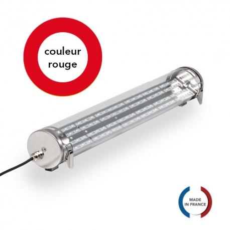 TUBELight FUN bi-matière - Rouge - Clair - Ø100 x 600 mm