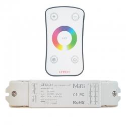 Télécommande de contrôle pour ruban LED RVB