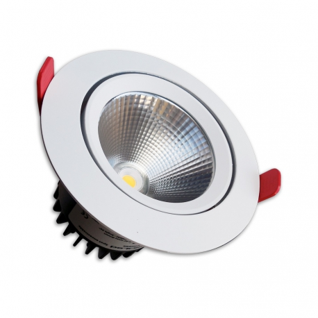 Spot led encastrable 20w orientable for Spot encastrable plafond exterieur