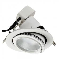 Spot LED encastrable 30W orientable