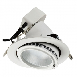 Spot LED encastrable 38W - orientable - 4000K - IP20