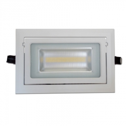 Spot LED encastrable vitrine 28W