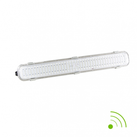 Réglette LED intégrée 18 W avec détecteur  600 mm
