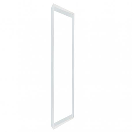 support dalle led blanc en saillie 1205x305x50mm. Black Bedroom Furniture Sets. Home Design Ideas