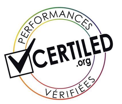 Des produits Visioled Certifiés Certiled
