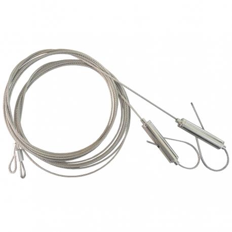 Câbles de fixation