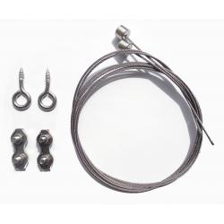 Kit de suspension pour Tube-line, Tubelight & Réglette LED