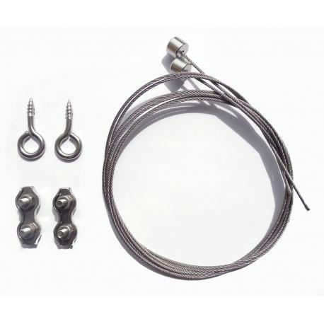 Kit de suspension pour Tube-line, Tube line PRO & Réglette LED