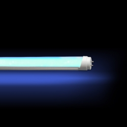 Tube LED 24W COULEUR BLEU Opaque 1500 mm