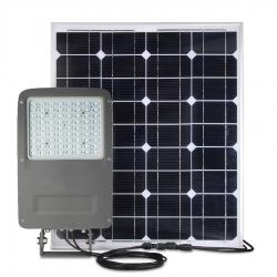 PROJECTEUR LED 50W / SOLAIRE AUTONOME 100W / IP67 - 3000K