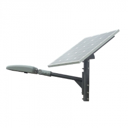 SUPPORT MAT pour Streetlight et panneau solaire 80W