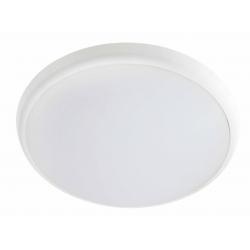 OLANN APPLIQUE/PLAFONNIER LED 25W Rond - 4 000 K - IK08 - IP54