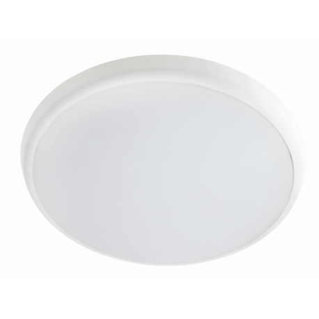 OLANN APPLIQUE/PLAFONNIER LED 25W Rond - 4 000 K - IK08 - IP54