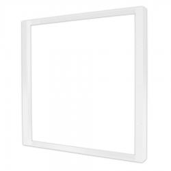 Support dalle IP 65 - Blanc 600x600mm en saillie