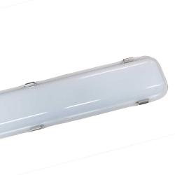 Réglette LED intégrée 50W - câblage traversant - 6000K - IP65 - 1270 mm - Soline