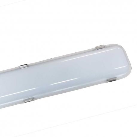 Réglette LED intégrée 60W - 6000K - IP65 - 1575 mm - Soline