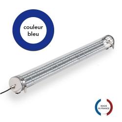 TUBELight FUN bi-matière - Bleu - Clair - Ø100 x 1 500 mm