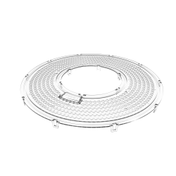 Lentille 60° pour projecteurs suspendus
