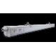 KLICLight réglette LED 40W - 4000 K / 5000 K - IP66 - 1200mm - Câblage traversant - LED Bridgelux - Driver Osram