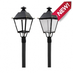 ANTIKLIGHT tête de lampadaire antique 60W