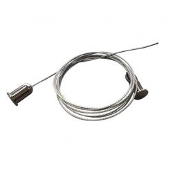 Kit de suspension automatique Tubelight / Réglette LED - livré par paire