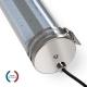 TUBELight LED intégrées bi-matière - 1265 mm - 48W - 3000K - Clair - Ø 100