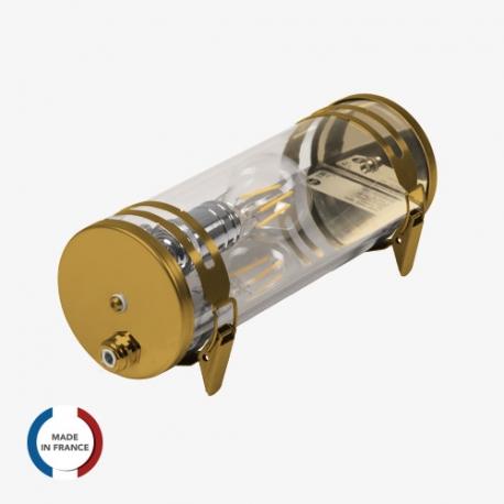 TUBELight CHIC Lutèce version Gold - 10W  - Ø100 x 300 mm