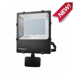 Projecteur détecteur infrarouge double fonction - 50W - 3000K - IP65 - IK08