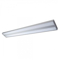 Luminaire Profil 28,8W - 4000K - IP40 - Unidirectionnel - Double diffusion - 1221mm